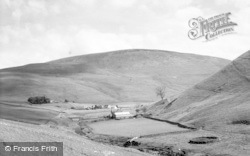 Harbottle, View Over Windyhaugh c.1960