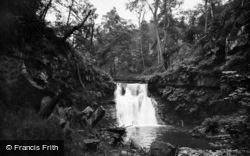 Falls From Druid's Seat c.1935, Harden