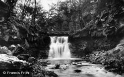 Goitstock Waterfall c.1950, Harden