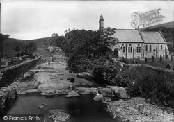 Hardraw, Church Of St Mary And St John And Beck 1911