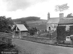 Hardraw, Church Of St Mary And St John And Lychgate 1925