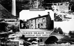 Composite, Green Dragon Inn c.1960, Hardraw