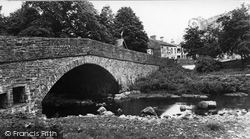Hardraw, The Bridge c.1955