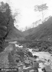 Hardraw, The Gorge c.1960