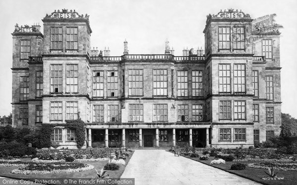 Photo of Hardwick Hall, c.1886