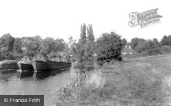Harefield, The Canal c.1965