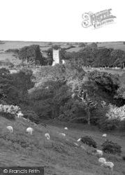 St Petroc's Church c.1939, Harford