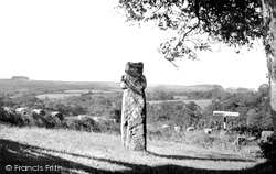 The Ancient Cross And The Moors c.1960, Harford