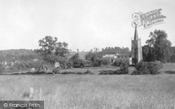 Church And Village c.1955, Harlaxton