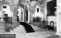 Manor, Entrance Hall c.1960, Harlaxton