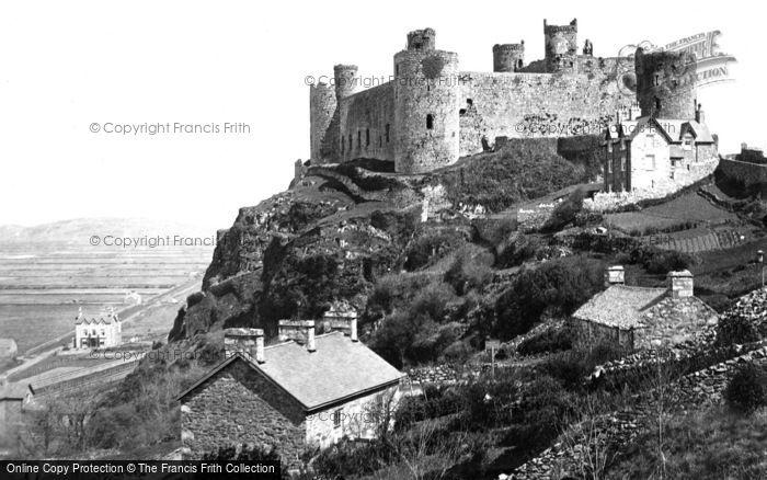 Photo of Harlech, Castle 1889