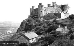 Harlech, Castle 1889