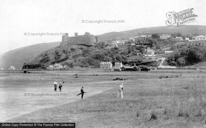 Photo of Harlech, Castle And Golf Links 1908