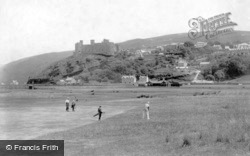 Harlech, Castle and Golf Links 1908