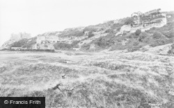 Castle, College And St David's Hotel 1921, Harlech