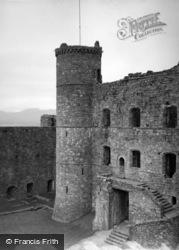 Castle, The Rear Gatehouse 1952, Harlech
