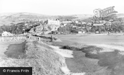 From The Golf Course c.1960, Harlech