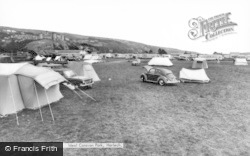 Ideal Caravan Park c.1960, Harlech