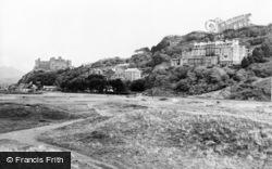 St David's Hotel, Coleg And Castle c.1960, Harlech