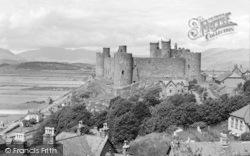 Harlech, The Castle c.1955