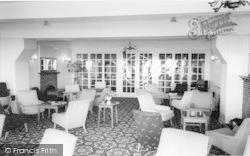 Harlech, The Lounge, St David's Hotel c.1960