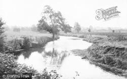 River Waveney At Shotford c.1955, Harleston