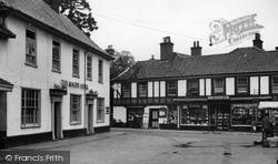 The Market Place c.1955, Harleston
