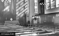 Harlow, Interior Of St Paul's Church c.1960