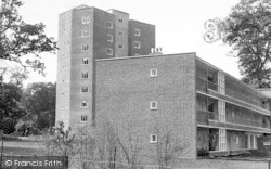 Harlow, Nine Storey Flats, New Town c.1955