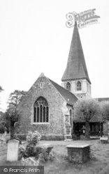 Harlow, St Mary And St Hugh Parish Church, Old Harlow c.1960