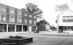 Harlow, Stow Shopping Centre c.1955