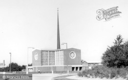 Harlow, The Church Of Our Lady Fatima c.1960
