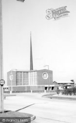 Harlow, The Church Of Our Lady Fatima c.1965