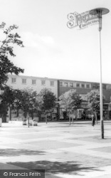 Harlow, The Market Square c.1965