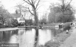 Harlow, The River, Harlow Mill c.1960