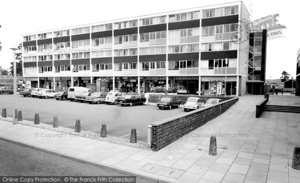 Photo of Harmans Water, The Square c.1965
