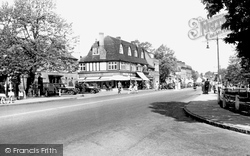 Harpenden, High Street c.1955