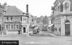 Harpenden, Station Road c.1960