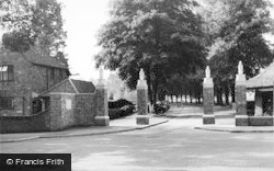 Harpenden, The Entrance To Rothamsted Park c.1960