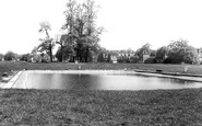 Harpenden, the Pond on the Common c1960