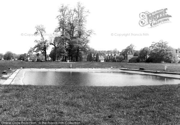 Photo of Harpenden, the Pond on the Common c1960