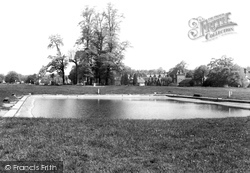Harpenden, The Pond On The Common c.1960