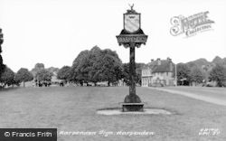 Harpenden, The Town Sign c.1960