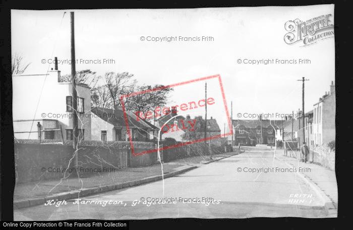 Photo of Harrington, High Harrington, Greystone Cottages c.1955