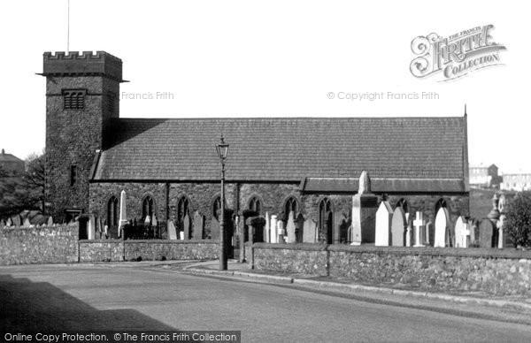Photo of Harrington, St Mary's Church c.1955