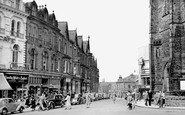 Harrogate, Cambridge Crescent c.1955