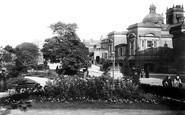 Harrogate, Crescent Gardens 1902