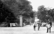 Harrogate, Entrance To Valley Gardens 1914