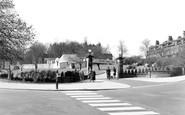 Harrogate, Entrance To Valley Gardens c.1960