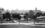 Harrogate, From White Hart Hotel 1893
